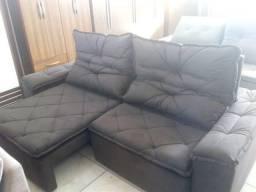 Título do anúncio: sofá retrátil largura 2,50cm novo  última peça