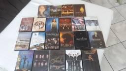 Título do anúncio: 20 DVDs gospel usados em ótimo estado.