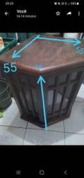 Bar de canto  de madeira