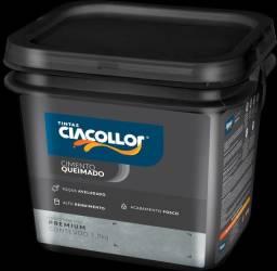 Título do anúncio: Cimento Queimado Externo 5,8kg