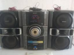 Aparelho de Som Sony 3000W RMS.