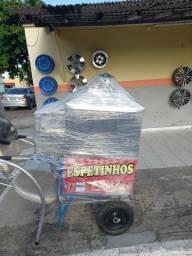 Vendo carrinho de churrasco