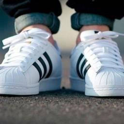 Tênis Adidas superstar n° 34 e 36