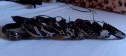 Colares masc/fem, pulseiras couro ecológico.