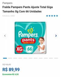 Pampers pants xg