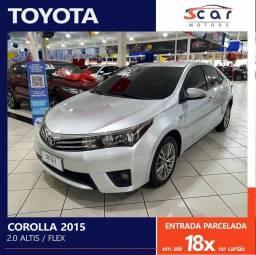Título do anúncio: COROLLA 2.0 ALTIS 2015