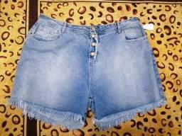 Short jeans Plus Size tamanho 52