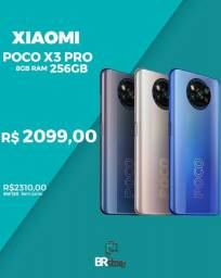 Título do anúncio: Imperdivel Xiaomi Poco X3 pro 256gb 8gb ram lacrado (Ac.cartão)