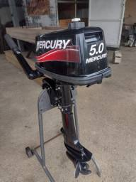 Título do anúncio: Motor Mercury 5.0