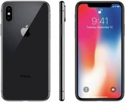Título do anúncio: iPhone X 256 gb de vitrine por 12 X R$ 210,42 e garantia ou à vista.