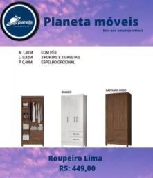 Título do anúncio: ROUPEIRO LIMA NOVO / CDS DVDS CDS DVDS CDS DVDS CDS DVDS
