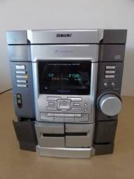 Mini System Sony Rg33 - Para Retirada De Peças / Restauração