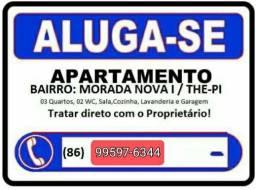Título do anúncio: ALUGA-SE AP NO MORADA NOVA