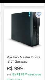 Título do anúncio: Pc positivo master com Wi-Fi