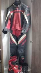 Macacão texx spirit, bota e luvas!!!