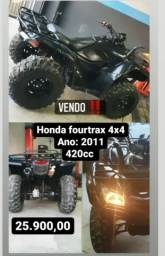 Título do anúncio: Honda Fourtrax 420cc