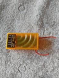 Receptor Orange 2.4ghz 6 canais dsm2/dsmx