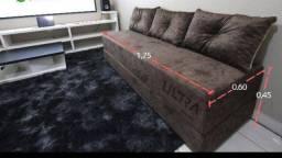 Título do anúncio: Sofá cama lindo novo com várias cores disponíveis