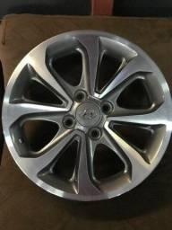 Jogo de rodas Hyundai hb20 aro 15 novas