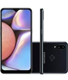 "Samsung Galaxy A10s 32gb Tela 6,2"" Preto NOVO"