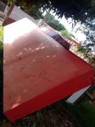 Título do anúncio: Toldo vermelho 660x170