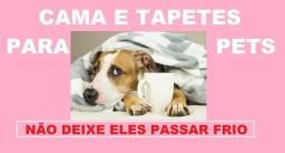 Título do anúncio: tapetes e cama  para seu pet  veja os tamanho e preços, cores