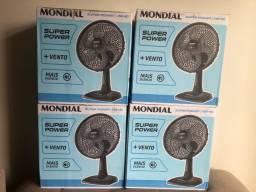 Título do anúncio: Ventilador Novo - 30cm - Mondial - 6 pas