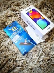 Título do anúncio: Samsung M62 Lacrado 128Gb Capinha Pelicula