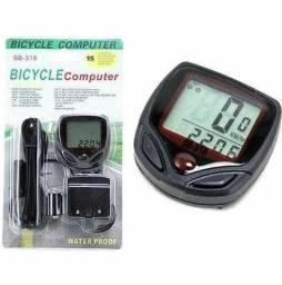 Velocímetro Digital para Bike a prova d?água com 15 funções SB318<br><br>