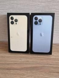 Título do anúncio: Iphone 13 Pro Max Azul/Dourado! Novo + Garantia ! Lacrado !!! Pronta Entrega !