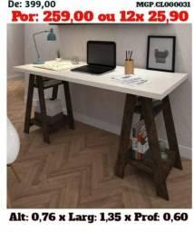 Título do anúncio: Escrivaninha Cavalete- Escritorio-Mesa de Estudo-Computador-Saldão Curitiba