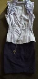 Shorts e blusinhas usadas