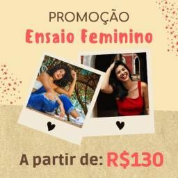Título do anúncio: Ensaio feminino - Promoção