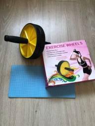 Título do anúncio: Roda Para Exercício Abdominal Lombar Fitness Academia