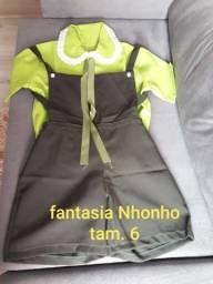 Título do anúncio: Fantasia infaltil Nhonho tam.6