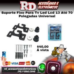 SUPORTE PARA TV LED LCD UNIVERSAL ATE 70 POLEGADAS PAREDE E PAINEL