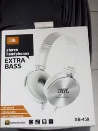Título do anúncio: Fone de ouvido jbl com fio xb-450 extra bass headphone Novo, várias cores