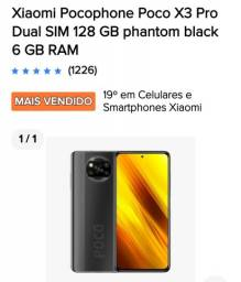 Título do anúncio: Cel xiaomi poco X3 pro dual 128gb