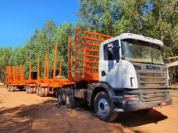 Scania G420 6x4 Rodotrem