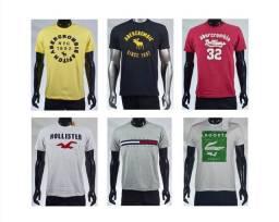 10 Camisas Atacado FRETE GRÁTIS Grife várias marcas
