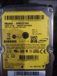 HD de notebook 320 gb Sasmung