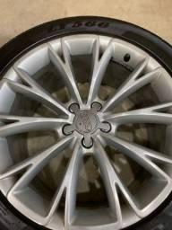 Título do anúncio: Rodas aro 19 ( com pneus em excelente estado).