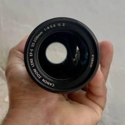 Título do anúncio: Lente canon 55-250mm