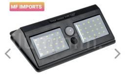 Luminárias solar com sensor de presença 40 leds