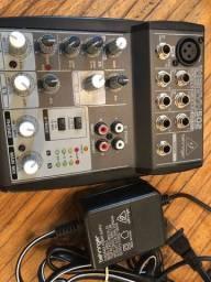 Mesa de som Berhinger Xenyx 502