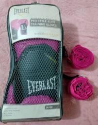 Luva Everlast + Bandagem