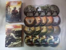 1° e 2° Guerra Mundial - 19 DVDs