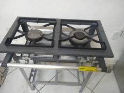 Fogão industrial + forno industrial