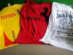 Camiseta Camisa Personalizada personalizar envie sua arte estampa