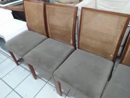 Cadeiras Estofadas (Usadas) Valor por Unidade - Frete Grátis!